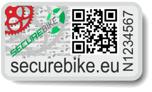 štítek SECUREBIKE